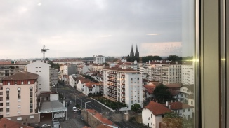 View from Hotel Okko, Bayonne, France